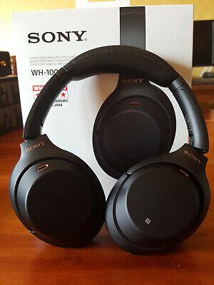 Sony WH-1000XM3 presque neuf (casque bluetooth à réduction de bruit active)