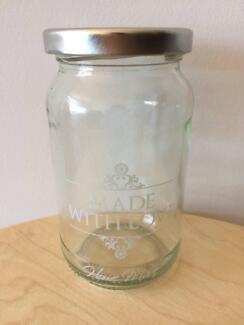 300ml Made With Love Glass Jar
