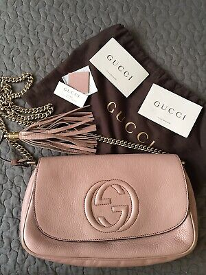 gucci disco soho Chain Strap Crossbody Bag