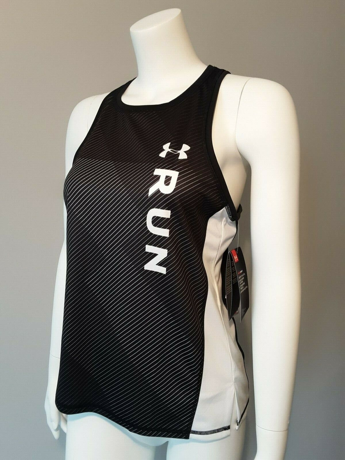 $40 WOMENS UNDER ARMOUR RUNNING TRAINING WORKOUT GYM TANK TO
