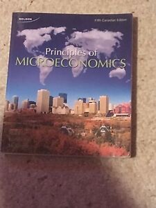 Principles of Microeconomics fifth Canadian edition
