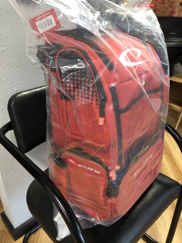 Latitude 64 DG Luxury E4 Backpack Disc Golf Bag