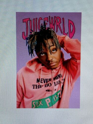 JUICE WRLD 24x36 HIP HOP RAP MUSIC RIP R&B JUICEWRLD CHICAGO BANDIT LUCID DREAMS