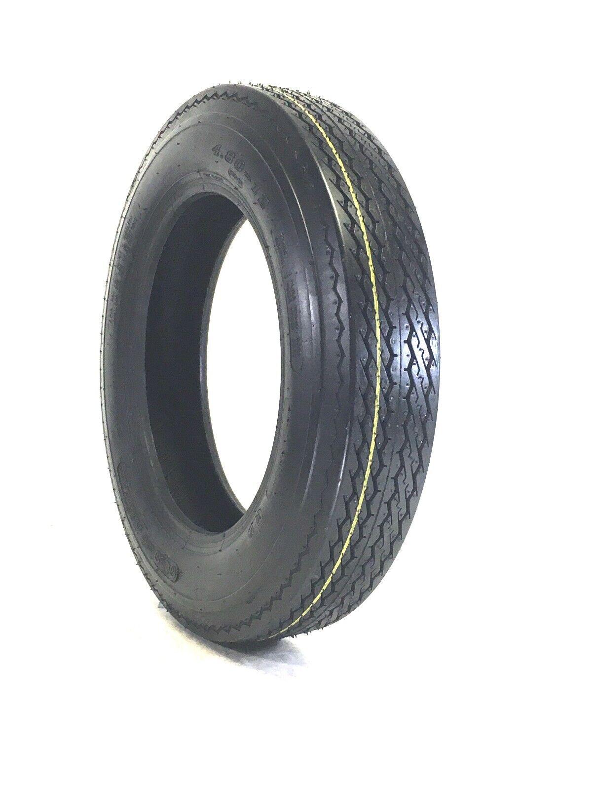 4.80-12 6 Ply Hi-Speed Trailer Tire 4.80X12