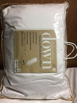Charter Club Down European White Down Pillow Standard Soft Price 140.00 European Down Pillow