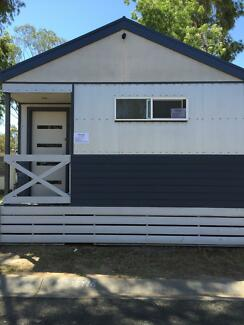 Holiday Cabin (relocatable) on-site in Echuca Holiday Park