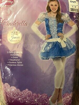 Disney Cinderella Junior Adult Teen Costume Size Medium