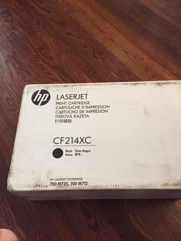 CF214XC-GENUINE HP 14XC Print Cartridge, High Yield,Black,  OEM