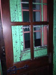 Antique doors windows and screens