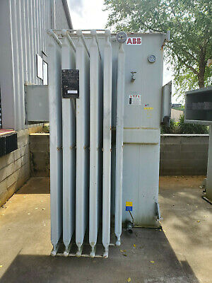 Abb 3750 Kva Substation Transformer 13800 Delta Primary 480y277 Secondary