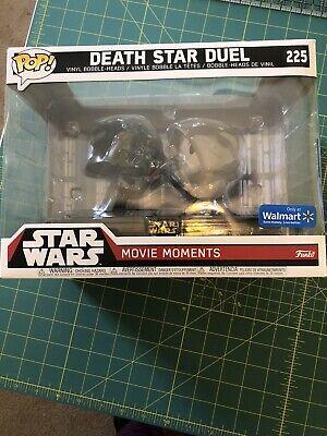 Funko Pop! Star Wars DEATH STAR DUEL #225 Movie Moments Set Walmart Exclusive