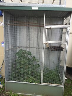 bird aviary 120 cm wide 180 cm high 60 cm deep Villawood Bankstown Area Preview