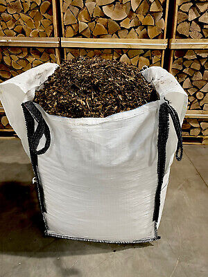 Wood chip - Eco Mulch - Bark - Wood Chipping - Bulk Bag - Free LOCAL Delivery