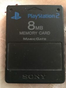 PlayStation 2 memory card 8 MB