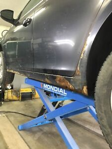 ROCKER PANELS REPAIR OR REPLACE AND PAINT