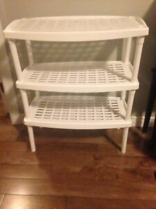 3 tier shoe rack/storage