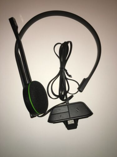 """Xbox One Headset """"Official OEM Microsoft Headset"""" with Mic and Built in Adapter"""