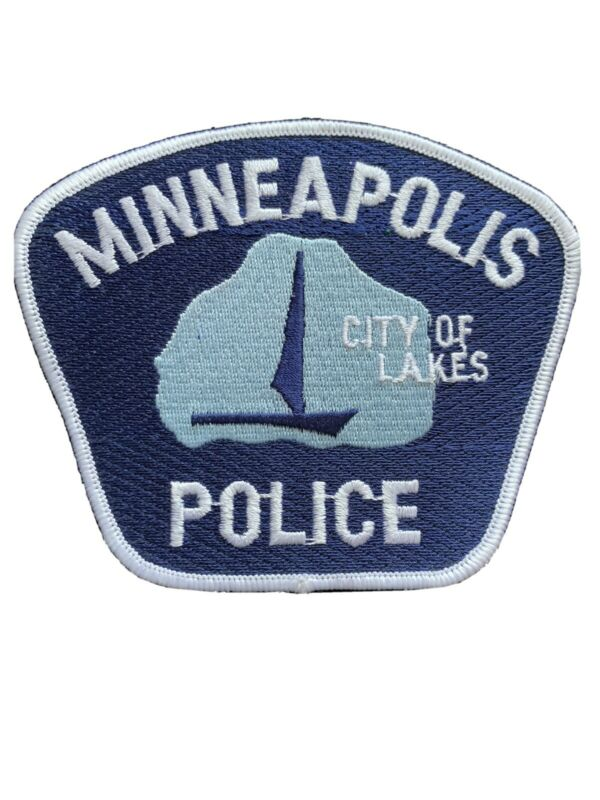 MINNEAPOLIS MINNESOTA MN City of Lakes POLICE PATCH