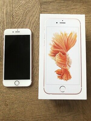 Apple iPhone 6S 16GB Tesco O2 - Rose Gold