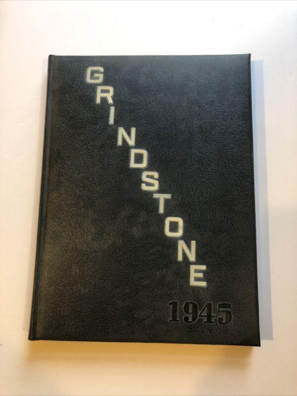 "1945 ""Grindstone"" - Baldwin-Wallace College Yearbook - Berea, Ohio"