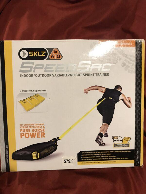 SKLZ SpeedSac Adjustable Weight Sled Trainer For Sprinters 10-30LBS