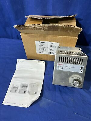 Hoffman Dah4001b 400 W Electric Heater For Control Cabinet Free Shipping