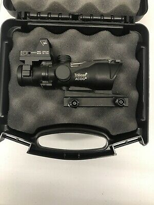 Fake Trijicon ACOG Scope Green Sight W/ Red Dot A-121