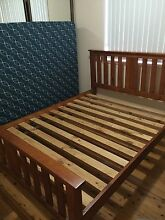 Queen Size Wood Bed Frame Mount Riverview Blue Mountains Preview