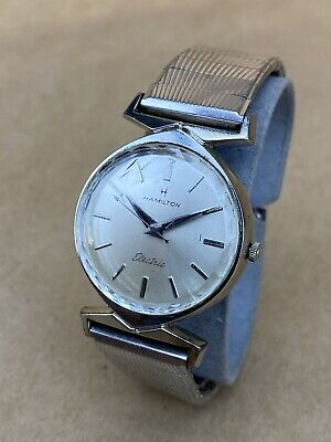 Hamilton Electric 10K Gold Filled 1970s Wristwatch - UNTESTED