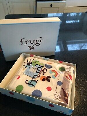 Frugi organic cotton baby blankets x2 (new, boxed)
