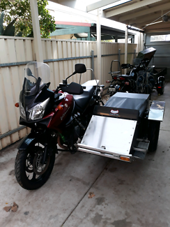 Suziki DL 1000 Vstrom sidecar Forestville Unley Area Preview
