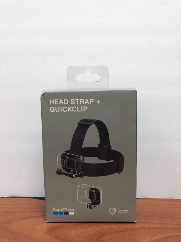 GoPro Head Strap + QuickClip ACHOM-001 for All GoPro HERO8 HERO7 HERO6 HERO5