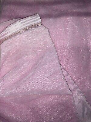 """10 YARDS BULK SILK VELVET Light Pink Plush, Dance, Apparel Fabric 45"""" WHOLESALE"""