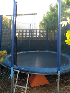 Trampoline 3m safety net included