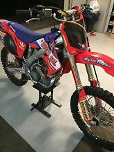 Honda CRF 250R 2009 Lugarno Hurstville Area Preview