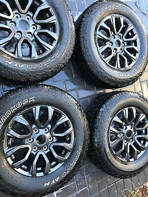"Ford Ranger XLT Lariat 17"" inch OEM FX-4 Sport wheels and tires 2020 Set of 4"