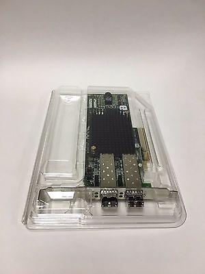 HP Emulex LPE12002  8GB Dual Port PCI-E Full Height 489193-001 AJ763A