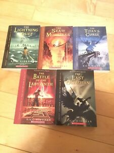 Percy Jackson & the olympians tome 1 a 5