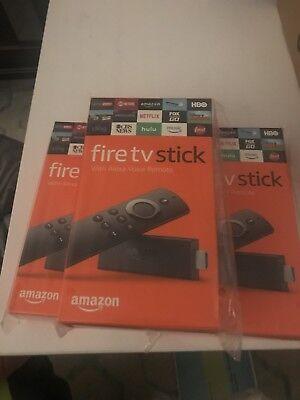 Fire Stick With Kodi17.6 + More - 2nd Generation Alexa Remote