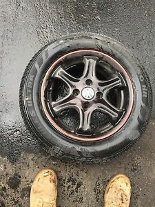 4 vw tires and rims