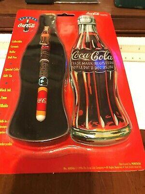 Coca Cola Soda Vintage Colibri Pen New in Box Unused