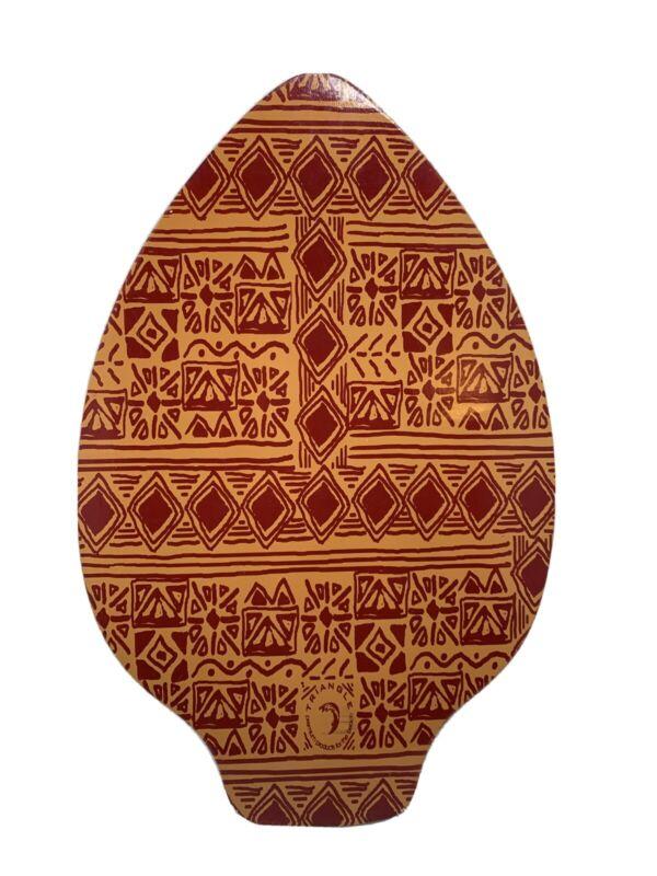 Classic Triangle Skimboard With Cool Hawaiin Tribal Design Water Board For Ocean