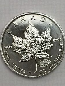 2000 Canadian Fireworks Privy Pure Silver 1 Oz Coin