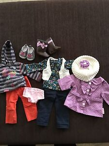 American Girl fall outfit set