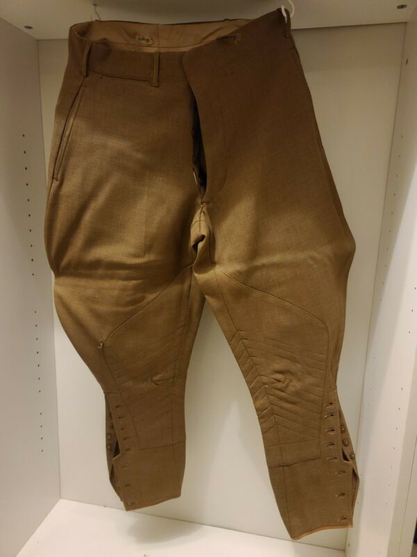 1918 Dated WWI Trousers Tailored With Hidden Pocket!