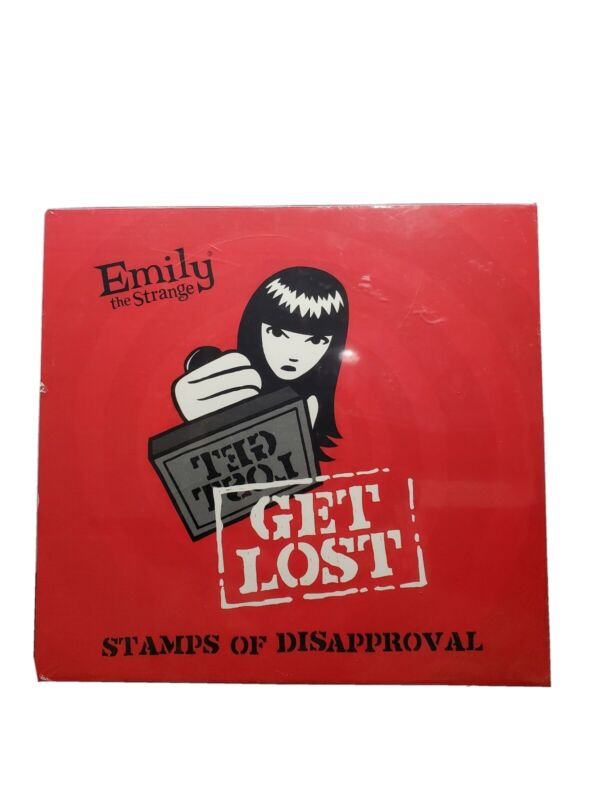 EMILY The Strange GET LOST Stamps of Disapproval Sealed NIB Ages 8 and up