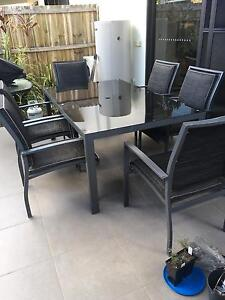 6 Seater Outdoor Setting Carina Heights Brisbane South East Preview