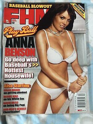 FHM For Him Magazine April 2006 Anna Benson Biggie Mac David Oritiz