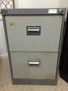 2 draw filing cabinet - FREE
