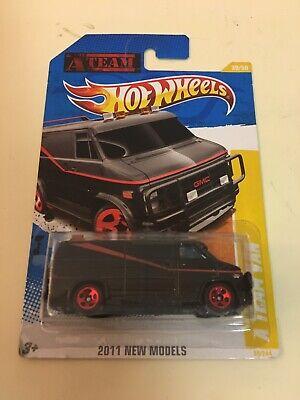 Hot Wheels A-team Dodge Van New Model